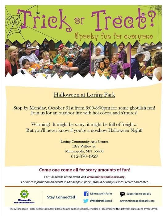 october 31 2016 monday halloween at loring park - Minneapolis Halloween Events