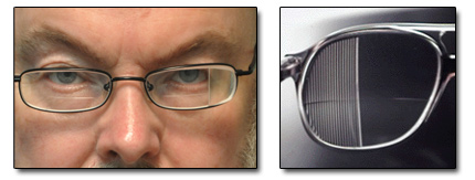 837717425273 Below is a Chadwick Hemianopsia lens on the left and a press-on version of  the Chadwick on the right.