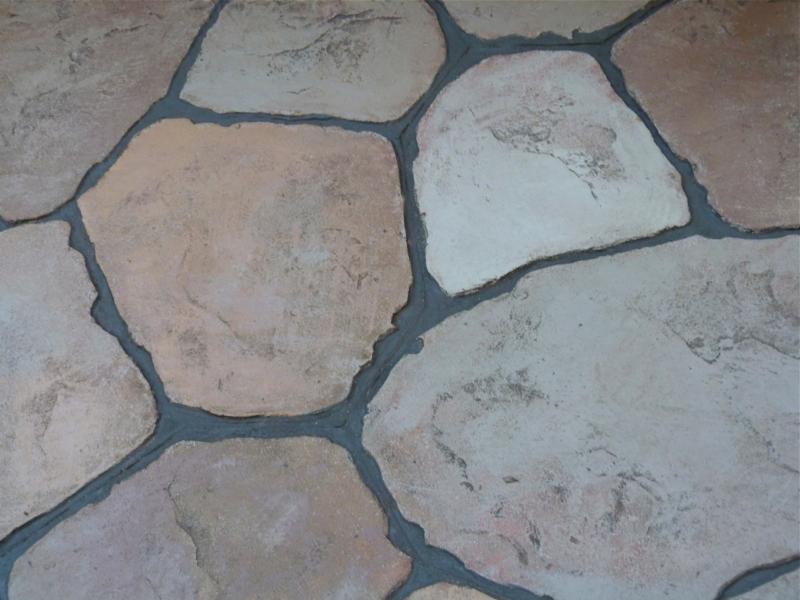 Refurbishing Stamped Concrete Deb S Garden Deb S Garden Blog