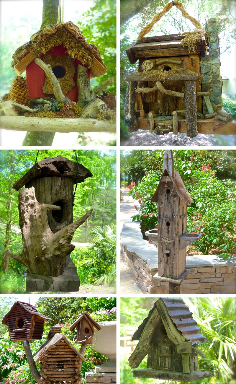 Rustic Birdhouses For The Birds Debs Garden Debs Garden Blog