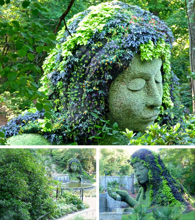 Atlanta Botanical Garden Skyline Gardens: Imaginary Worlds In Atlanta