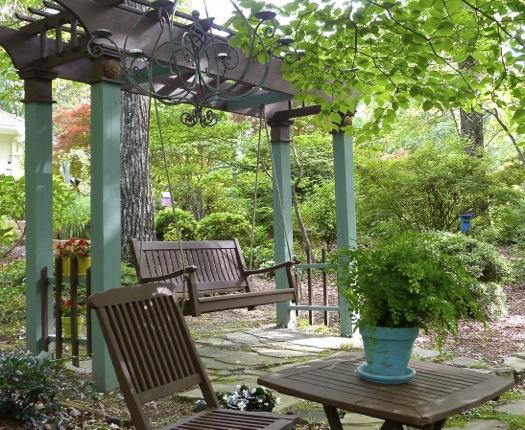The Lady and the Arbor Garden Debs Garden Debs Garden Blog