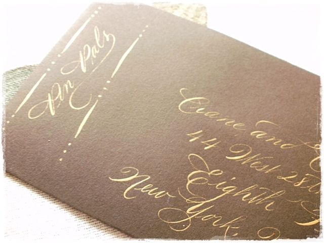 Calligraphy Envelope