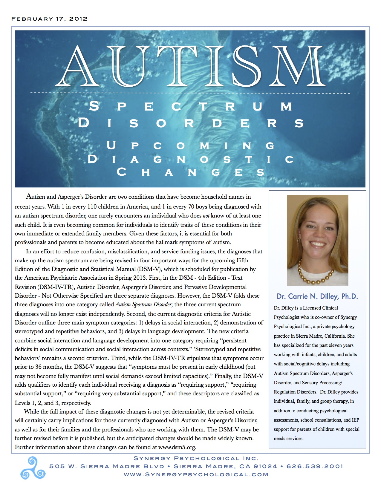 autism a disorder that is becoming