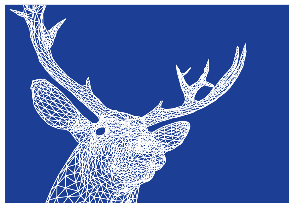 alto monarch stag print available postersandprints a street art graffiti blog the best art blog limited edition screen prints street art and - Cool Pictures To Print