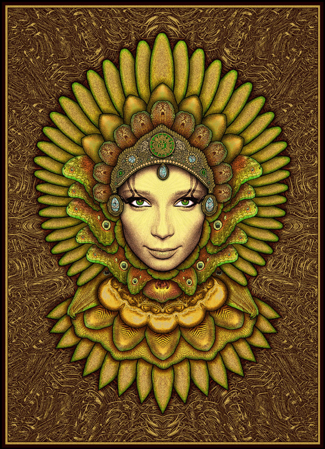 goddess green eyed