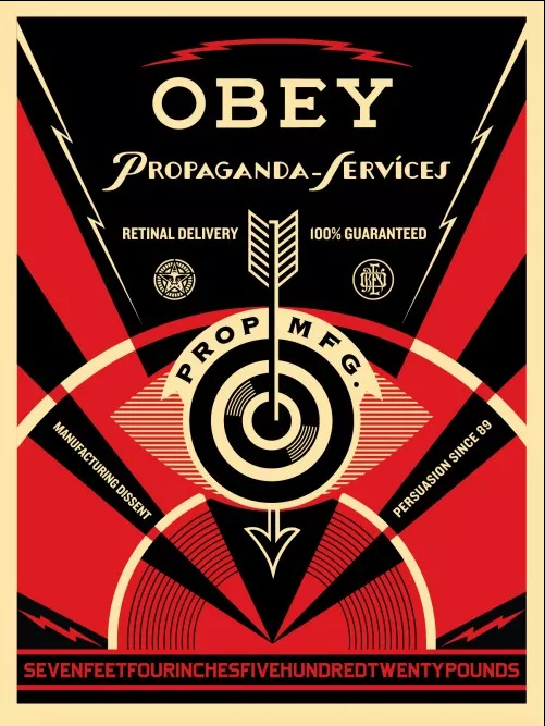 Obey Propaganda Services Eye Print Release Details