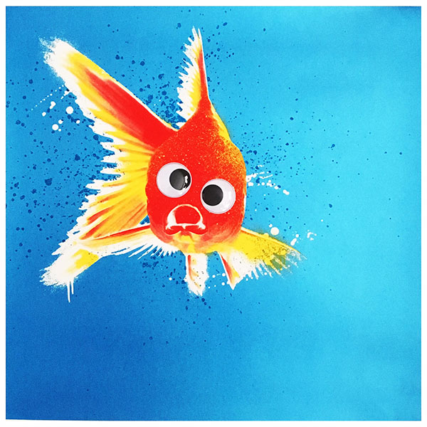 Jboy 39 blinky 39 print release today postersandprints a for Blinky the fish