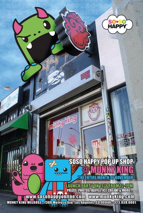 Munky King 'Pop Up' Shop In L.A. - PostersandPrints - An Urban ...