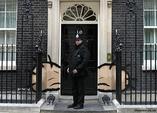 Banksy Has Big Balls For Hitting The Prime Minister S