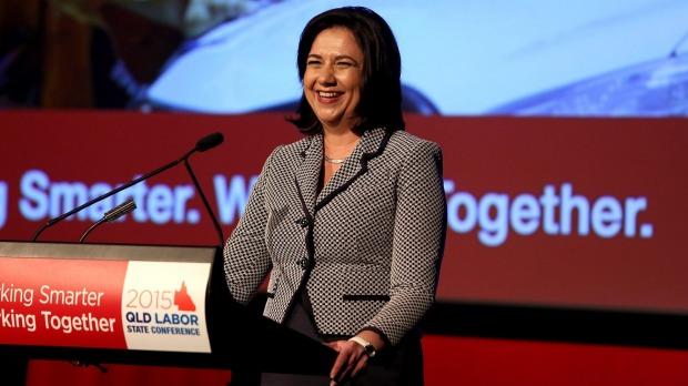 Premier Annastacia Palaszczuk 'changes language' about violence against men | Brisbane Times