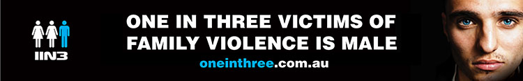 One in Three Victims of Family Violence is Male