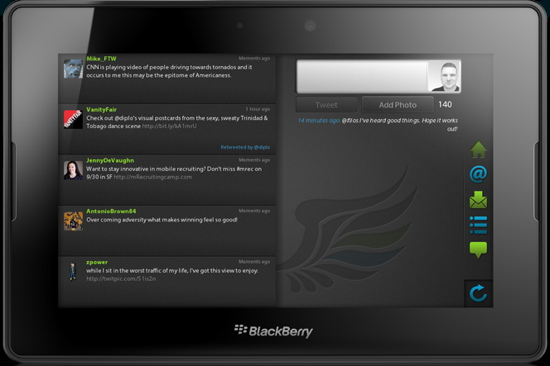Review: Blaq Twitter app for BlackBerry PlayBook - Canadian Reviewer