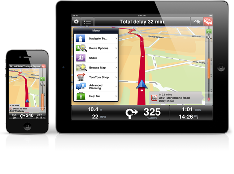 tomtom updates its navigation app for iphone ipad and. Black Bedroom Furniture Sets. Home Design Ideas