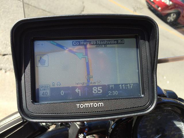 tomtom rider installation instructions