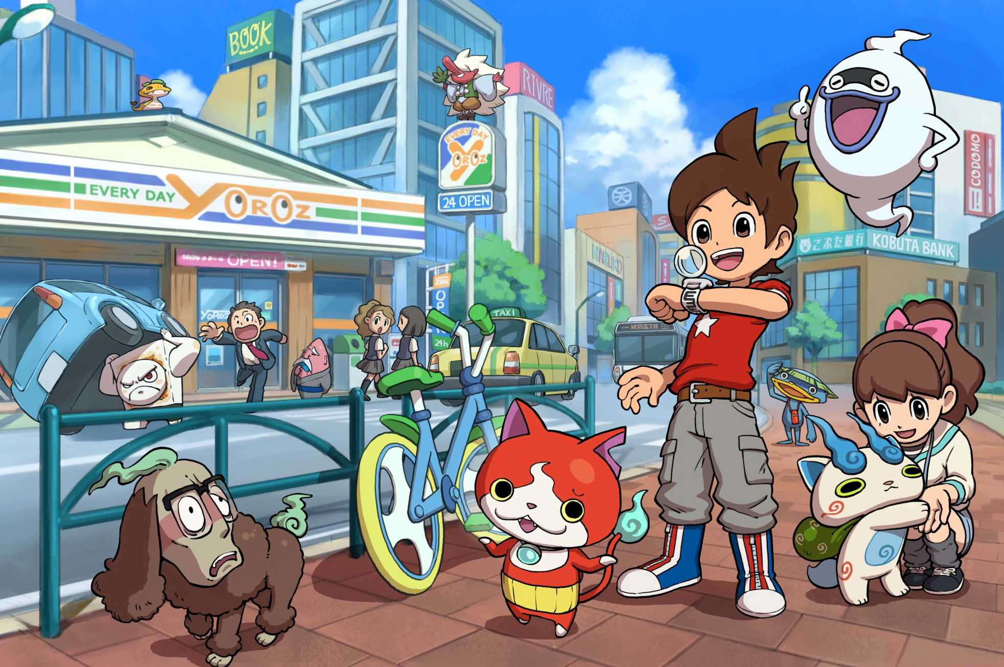Nintendo's Yo-Kai Watch Is Coming to North America ...