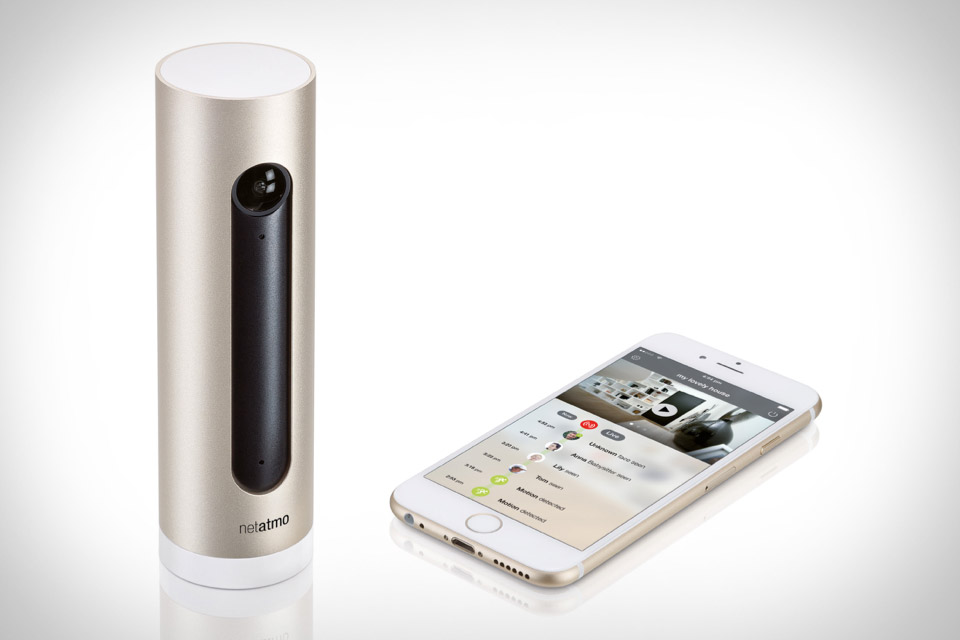 netatmo brings welcome camera and weather station to. Black Bedroom Furniture Sets. Home Design Ideas