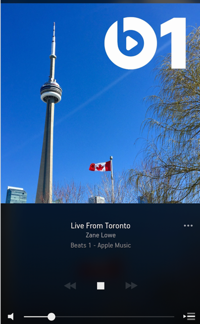 Beats 1 invades Toronto in time for the release of Drake's