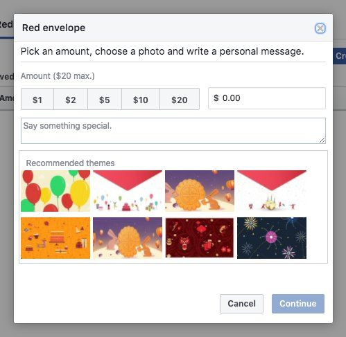 Facebook Might Soon Try Out Red Envelope Payments Feature And