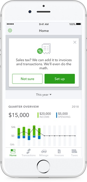 Intuit's app helps self-employed workers invoice, manage