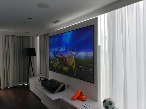 Hisense Shows Off Its 100 Inch Laser Ultra Hd Tv In Time For The World Cup Semifinals Canadian Reviewer Reviews News And Opinion With A Canadian Perspective