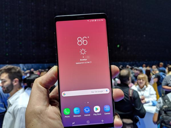 Samsung releases another Galaxy Note9 Android Pie beta update
