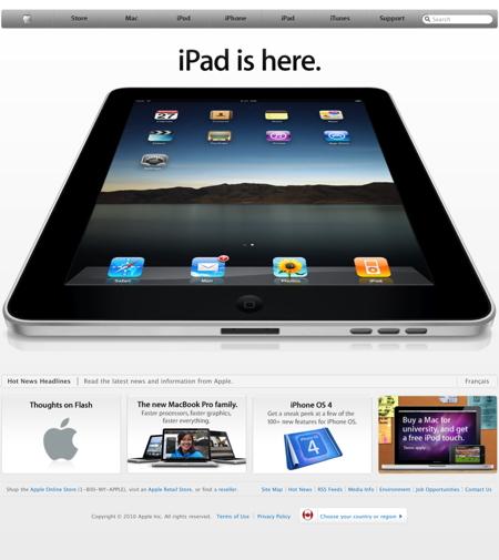 iPad begins selling in Canada