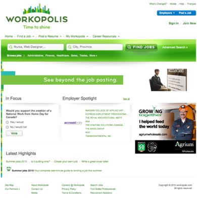 Workopolis salaries | glassdoor. Ca.