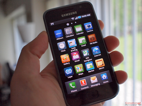 Review: Samsung Galaxy S Vibrant on Bell