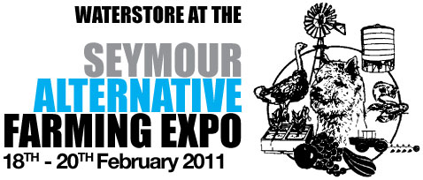 WaterStore Poly Water Tanks at the Seymour Alternative Farming Expo 18-20th February 2011