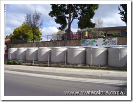 9000 litre tanks at bgo school