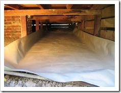 deflated bladda tank