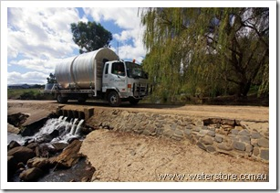 WaterStore-poly-water-tanks-delivery-truck-en-route-across-victoria