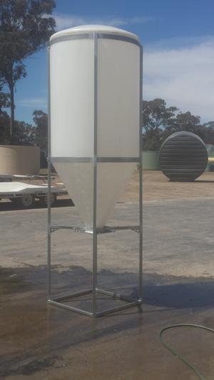 plastic silos waterstore poly tanks. Black Bedroom Furniture Sets. Home Design Ideas