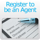 Register to be an Agent