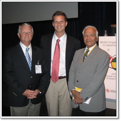 Dr. Aidan Raney, Dr. Pravin Shah, and Dr. Aidan Raney