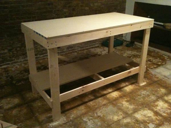 lapis//blue - blog - screen printing workbench!