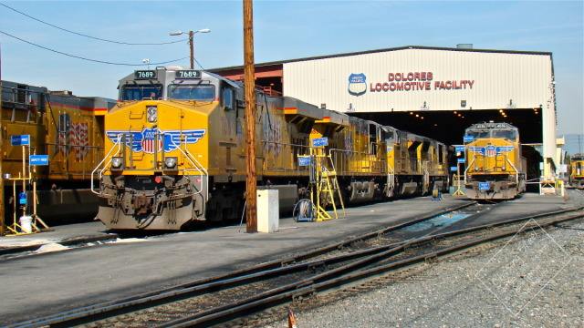 Union pacific 39 s ictf an amazing complex blog for Electric motor repair los angeles