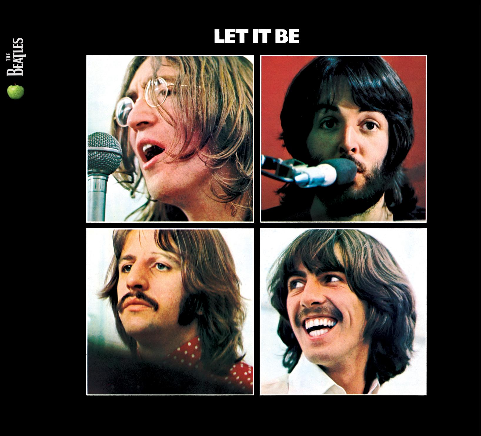 Pix For > Beatles Album Cover Let It Be