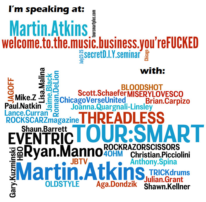 Tour:Smart Plus - Welcome to the Music Business. You're F#$#ED!