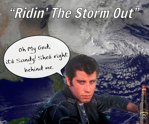 Beer coasters ridin the storm out issue