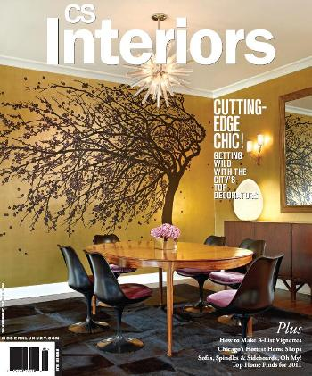 Bien living design chicago interior design about kristin tavrides Interior magazine