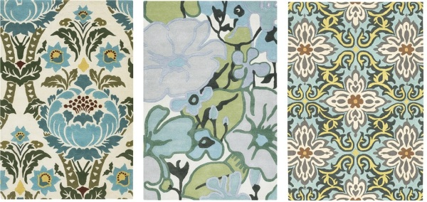 Amy Butler Graphic Floral Rugs