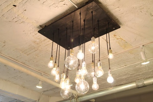 chic lighting fixtures. their modern chic light fixtures are made from reclaimed wood u0026 lamp parts all bulbs standard base can easily be replaced with a trip to the grocery lighting l