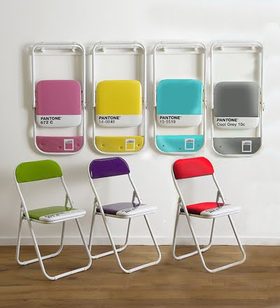 Gentil Well, The Brilliant Minds Over At The Italian Design House Seletti Designed  A Much More Colorful Alternative   The Pantone Folding Chair.