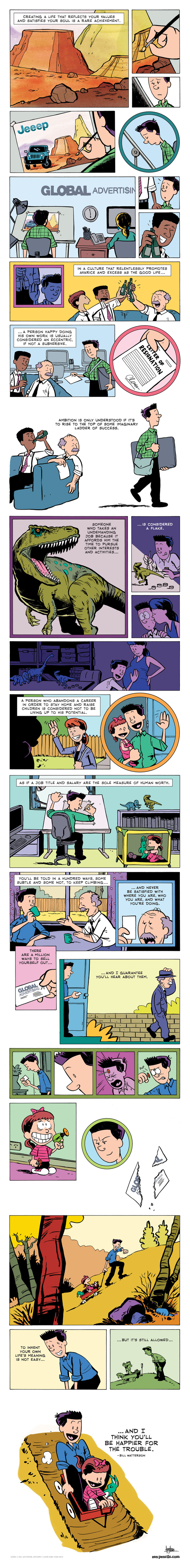 Comic Tribute to Bill Watterson