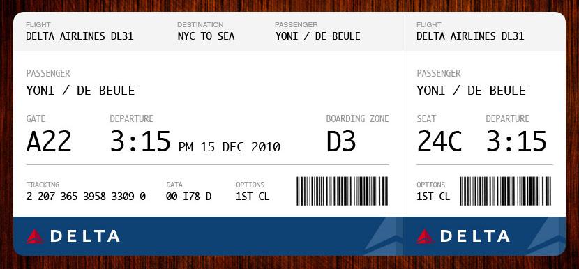 delta airline tickets