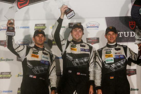 FULL REPORT: Magnus Racing Scores Second in Wet Petit Le Mans Finale