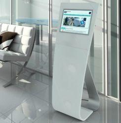 Waiting Room Kiosks And Virtual Receptionist Display