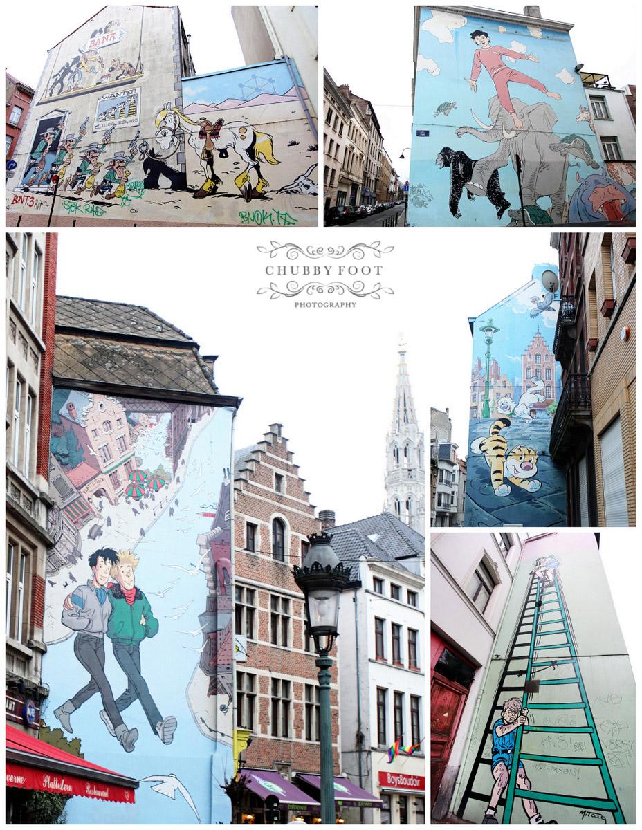 Chubbyfoot photography chubbyfoot photography the for Comic book mural